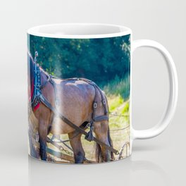 #Working with the #Belgian #draft #horse Coffee Mug