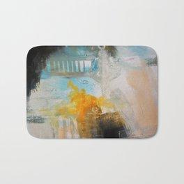 Blue Pink Art Print Bath Mat