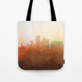 Lubbock, Texas Skyline - In the Clouds Tote Bag