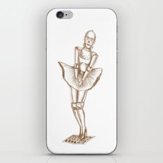 C3PO Monroe iPhone & iPod Skin