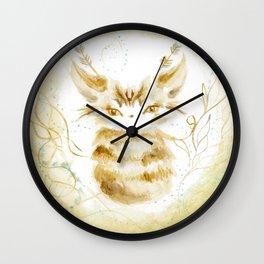 Ghostkitten Wall Clock