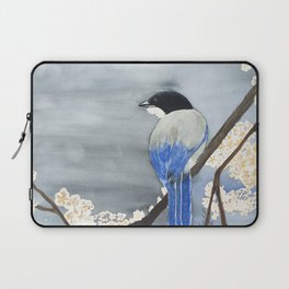 Blue Magpie Laptop Sleeve
