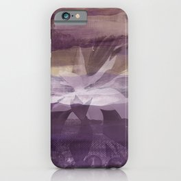 Pond Purple Violet & Mauve iPhone Case