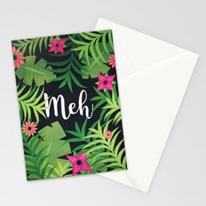 Meh Jungle Print Stationery Cards