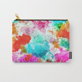 Koi Pond, Water Lilly Carry-All Pouch
