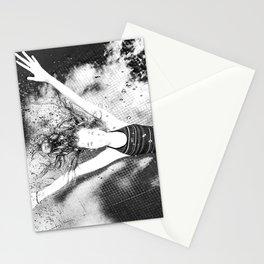 Dans la piscine 1 Stationery Cards