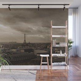 Rooftop view of Paris Wall Mural
