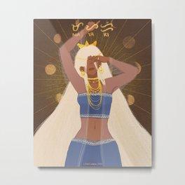 Mayari | Moon Goddess Metal Print