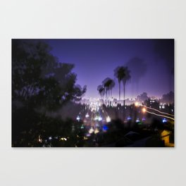 Chasing Light in Los Angeles Canvas Print