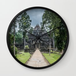 Baphuon Temple at Angkor Thom II, Siem Reap, Cambodia Wall Clock