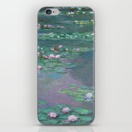 Water Lilies Monet 1905 iPhone Skin
