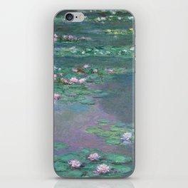 Water Lilies Monet 1905 iPhone Skin