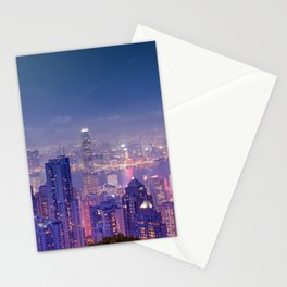 Hong Kong View V Stationery Cards