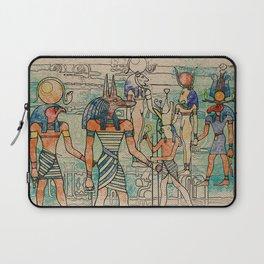 Egyptian Gods on canvas Laptop Sleeve