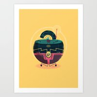 :::Mini Robot-Sfera1::: Art Print
