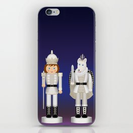 Toy King and Mouse King on Christmas Eve. iPhone Skin
