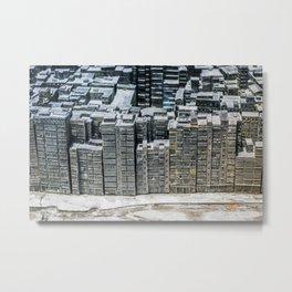 Kowloon City Wall Metal Print