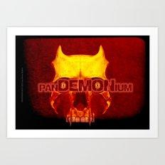 panDEMONium - 110 Art Print