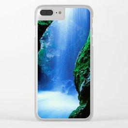 Waterfall-Orridi di Rio Basino Clear iPhone Case