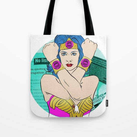Occupy Wall Street POP ART Tote Bag