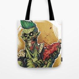 Yummy Zombie Tote Bag