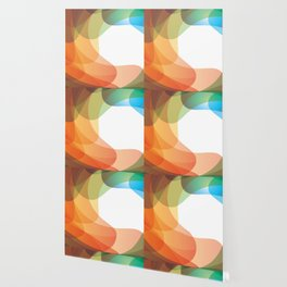 RAINBOW Abstract Art Wallpaper