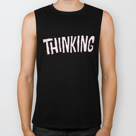 Is Anyone Thinking What I Am? Biker Tank
