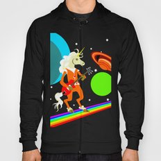 Rockin' Space Unicorn Hoody