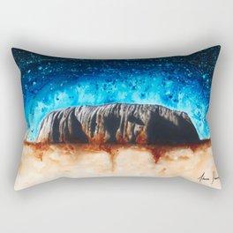Ancient Ochre Rectangular Pillow