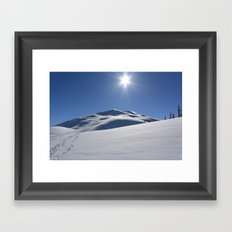 Tincan Peak Framed Art Print