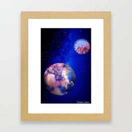 Let Me See What Spring Is Like On Jupiter & Mars Framed Art Print