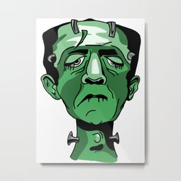 The Monster Metal Print