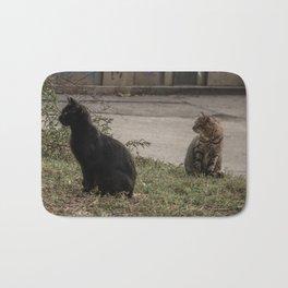 Stray Cats Bath Mat