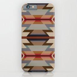 American Native Pattern No. 128 iPhone Case