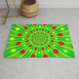 To The Target, Modern Digital Art Pattern Rug