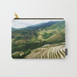 DRAGON'S BACKBONE // Longji Rice Terraces Carry-All Pouch
