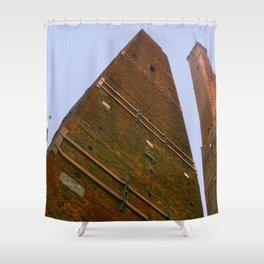 Italian skyscraper Shower Curtain