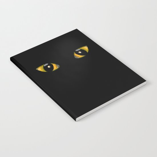 Cats Eyes Notebook