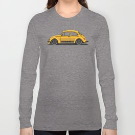 Legendary Custom Jeans Bug Vintage Retro Cool German Car Wall Art and T-Shirts Long Sleeve T-shirt