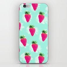 Watercolor Strawberry iPhone & iPod Skin