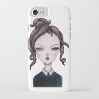 captain iPhone & iPod Cases featuring captain  by lily