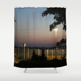 urban mystery no.3 Shower Curtain