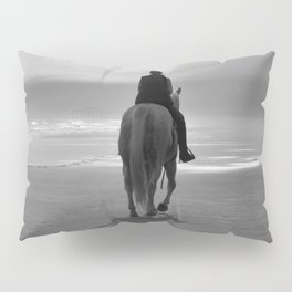 Into The Fog B&W Pillow Sham