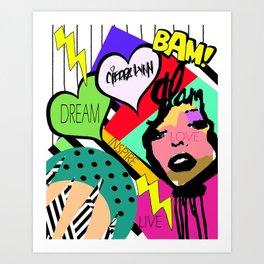 Get it Poppin Art Print
