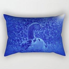 Oie dans les jardins de carrouges by GEN Z Rectangular Pillow