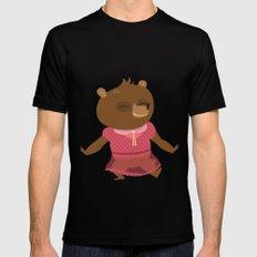 Little Bear Mens Fitted Tee Black MEDIUM