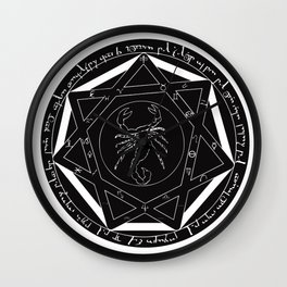 Supernatural Devil's Trap Wall Clock