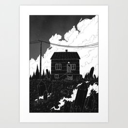 And I will not rust away this time. Art Print