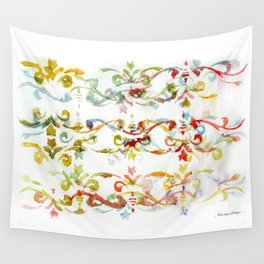 Arabesque pattern Wall Tapestry