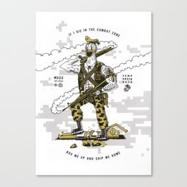 US Marine Corps Canvas Print